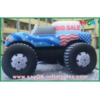 Wholesale Logo Printing Custom Inflatable Products , Advertising Waterproof Inflatable Car from china suppliers