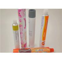Wholesale Colorful Squeeze Aluminum Cosmetic Tubes For Hand Cream / Face Ointment from china suppliers