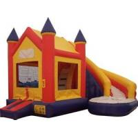 Wholesale Custom PVC Inflatable jumper bouncer with ground sheet for Commercial from china suppliers