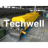 "Wholesale 3"" * 3"" Squared Rainwater Downpipe Roll Forming Machine For Water Pipe, Rain Gutter from china suppliers"