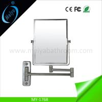 Buy cheap rectangle wall mounted double side magnifying mirror from wholesalers