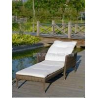 Wholesale Sunbed Outdoor Furniture Garden Relaxer Chairs Sun Loungers With Cushion from china suppliers