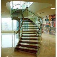 Wholesale Anti-Dirt Tempered Laminated Glass , Transparent Anti Slip Glass Foor For Building from china suppliers