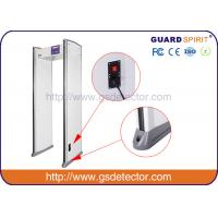 Wholesale Bank Airport Security Machines 6 Zones With Sound And LED Alarm , Police Metal Detectors from china suppliers