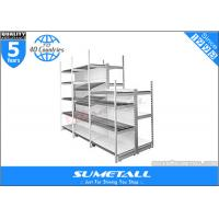 Wholesale Store Display Shelves Outrigger Post System , Metal Grocery Store Shelving Multilayer from china suppliers