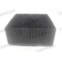 Wholesale Black  square foot  Nylon Auto cutter bristle spare parts for Gerber cutter machine from china suppliers