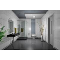 Wholesale 3mm Tinted Bathroom Shower Doors Glass Frameless , Decorative , Heat-Resistant from china suppliers