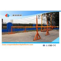 Wholesale ZLP500 Aerial  Suspended Platform Cradle Construction Equipment For Exterior Wall from china suppliers