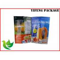 Wholesale Gravure Printing Plastic Stand Up Pouches With Zipper For Food Packaging from china suppliers