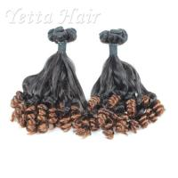 Wholesale Professional 100% Peruvian Aunty Funmi Human Hair / Double Drawn Remy Hair Extensions from china suppliers