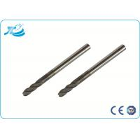 Wholesale 4mm - 25 mm Shank Diameter Solid Carbide End Mill , 2 - 4 Flute End Mill from china suppliers