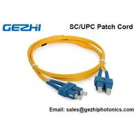 Wholesale 3D Passed Optical Fiber Patch Cables SC/UPC - SC/UPC single mode jumper cord from china suppliers