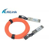 Wholesale PVC Jacket Material Qsfp Optical Cable 10Gbps 1M 2M 5M Length SFP-10G-AOC from china suppliers