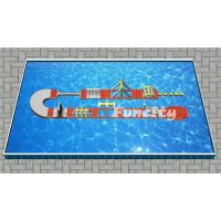 Wholesale Inflatable Water Park , Inflatable Water Obstacle Course Size 20 x 6m used in Steal Frame Pool from china suppliers