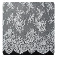 Wholesale Embroidered Nylon Eyelash Lace Trim Shorts / Embroidered Lace Fabric from china suppliers