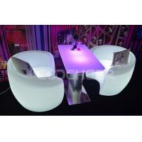 Wholesale Fireproof Illuminated Lounge Furniture , Led Bar Chair Remote Control KC - 9573 from china suppliers