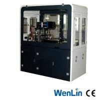 Wholesale Semi Automatic Servo Motor Id Card Die Cutter , Credit Card Punching Machine 3*7 / 3×8 from china suppliers