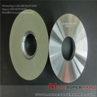Wholesale Ceramic bonded diamond grinding wheel polishing hard and brittle workpiece Alisa@moresuperhard.com from china suppliers