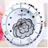 Buy cheap Metal Women Quartz Watches , White Ceramic Waterproof Wrist Watch from wholesalers