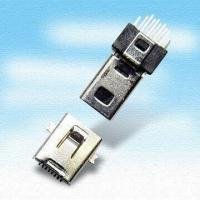 Wholesale 8-Pin 0.45mm Mini USB Connector in Male/Female Type from china suppliers