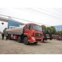 Wholesale factory sale best price Dongfeng 8*4 23CBM milk tanker truck, HOT SALE! 25,000Liters stainless steel liquid tank truck from china suppliers