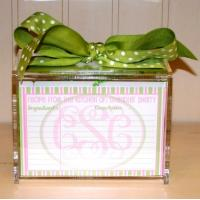 Wholesale Hot Sale!!! Factory Handmade Manufacturing Acrylic Clear Recipe Card Box for 4x6 Card from china suppliers