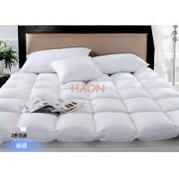 Wholesale Luxury Hotel Mattress Protector Filling With Duck Down / Goose Down , Hotel Mattress Pad from china suppliers