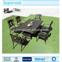 Wholesale Garden Aluminum Patio Furniture Sets , Cast Aluminum Table And Chairs Dinning Set from china suppliers