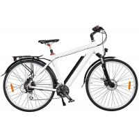 Wholesale Mens High End Electric Bike with Down Tube Battery and Front / Rear Tektro Disc Brake from china suppliers