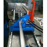 Wholesale Automatic Stud Roll Forming Machine / Track Roll Forming Machine PLC Control from china suppliers