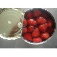 Wholesale Seedless Canned Strawberry Organic Canned Fruit in Light Syrup 14-17% from china suppliers