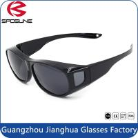 Wholesale OEM Wear Over / Fits Over Sunglasses Myopia Polarized Sun Eyewear Eye Protection from china suppliers