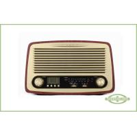 Wholesale Dual Alarm Wooden Retro Radio from china suppliers