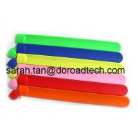 Buy cheap Best Selling Popular Silicone USB Flash Drives, 100% Real Capacity Band Wrist USB Sticks from wholesalers