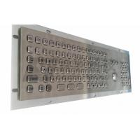 Wholesale Kiosk Industrial Mini Keyboard Stainless Steel Panel Mount from china suppliers
