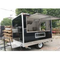 Wholesale Black Coffee Kiosk Food Catering Van With Outside Coffee Machine from china suppliers