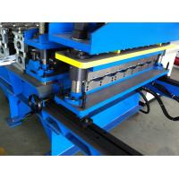 Wholesale Hydraulic Automatic Cutting Tile Roll Forming Machine with Pressing Unit from china suppliers