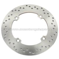 Wholesale Silver Motorcycle Brake Disc / 2Cr13 Stainless Steel Disc Brake In Bike from china suppliers