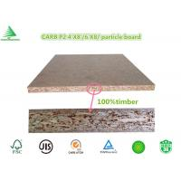 Wholesale China manufacturer E0/CARB P2 1220X2440X18MM standard plain particle board panel from china suppliers