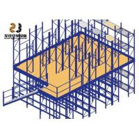 Wholesale Stable Commercial Industrial Mezzanine Floors Steel Platform For Workshop from china suppliers
