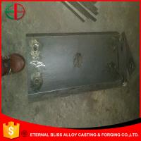 Wholesale HBW510Cr2 Heavy Plates Arc Plates 50mm Thick Ni-hard Casting Iron Parts  EB10030 from china suppliers