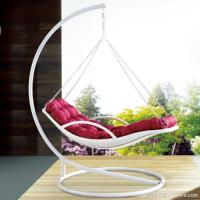 Wholesale Premium Indoor Outdoor Furniture PE Rattan White Day Bed Style Swing Hanging Chair from china suppliers
