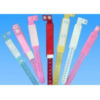 Quality Disposable Patient PVC ID Identification Bracelet Adult / Child Band for sale