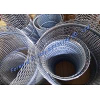 Wholesale Customized Perforated Steel Pipe / Spiral Locked Seam Tube With 304 316L Tube Filter Core from china suppliers
