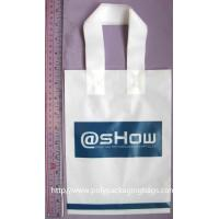 Wholesale Durable Recyclable Water Resistant Plastic Handle Bag Customized from china suppliers