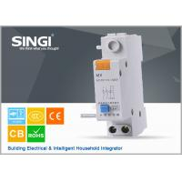 Wholesale Singi GNM MX AC220V DC24V auxiliary + shunt assemble mcb circuit breakers from china suppliers