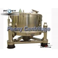 Quality 3 Column PTDM Manual Top Discharge Intermittent Pharmaceutical Centrifuge With Clamshell for sale