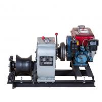 Wholesale 3 Ton Cable Winch Puller With Diesel Engine For Pulling And Hoisting In Power Construction from china suppliers