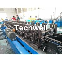 Quality 90mm Shaft Diameter Cable Tray Roll Forming Machine With 3.0kw Servo Feeding Device for sale