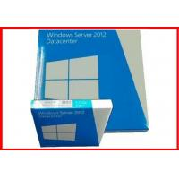 Wholesale Microsoft windows server 2012 datacenter / standard 64 bit  dvd Retail box Geniune COA License activation from china suppliers